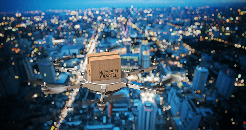 Two tales of drone delivery speeding up order fulfilment